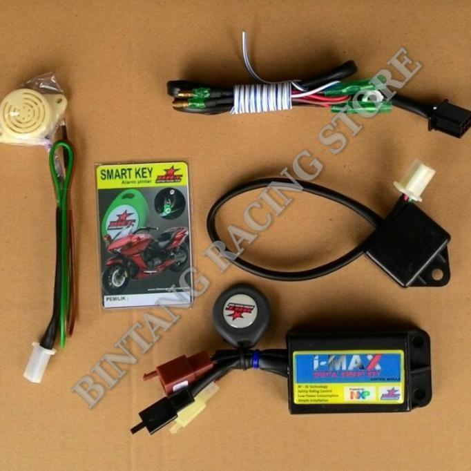 Alarm Motor Yamaha Jupiter Mx I-Max Digital Smart Key - Motomobi064