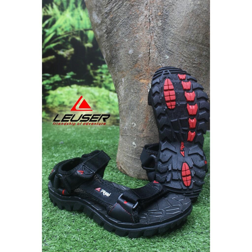 Promo Sandal Gunung / Sandal Outdoor / Sandal Rei Dark Wolf Gratis Ongkir