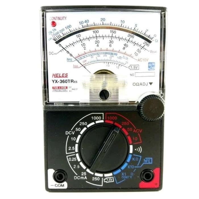 Multitester Analog Heles YX360TRes Avometer Multimeter Limited