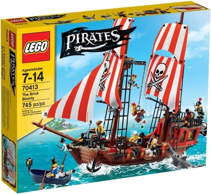 BEST SELLER!!! LEGO Pirates # 70413 The Brick Bounty Pirate Hijack Jolly Roger Cannon - NH7kyH