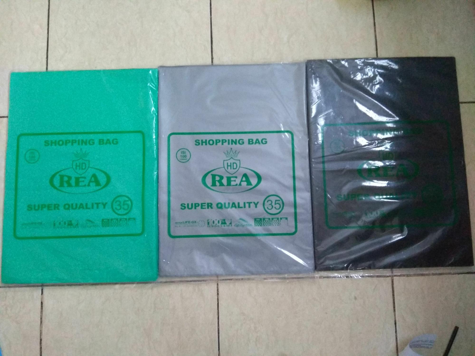 Plastik Tanpa Pond 35x50 Untuk Online Shop Shopping Bag