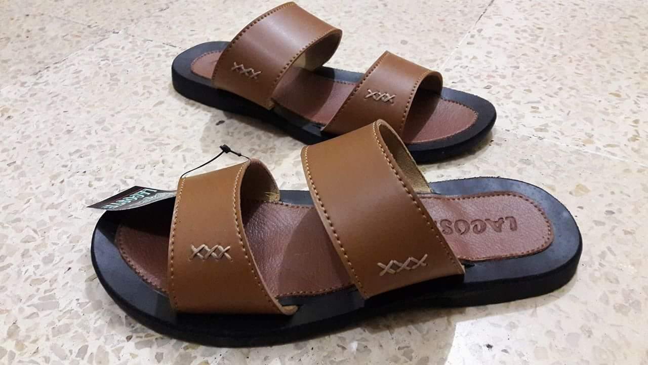 Lacoste Sandal Kulit Pria - Sandal Lacoste Pria - Sandal Pria Dewasa - Sandal Kulit - Sandal Pria - Sandal Kickers Sandal Kulit - Sandal Slop Pria