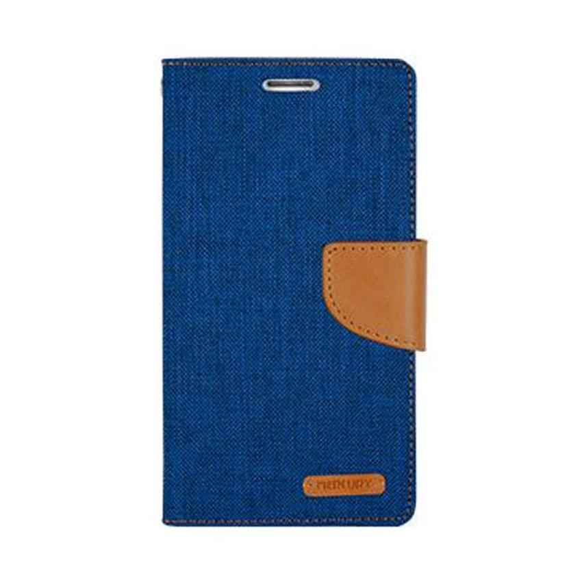 MR Fancy Diary Leather Case Cover For Lenovo S920 Flipshell Softcase / Sarung Case / Sarung Handphone Kulit - Biru Tua