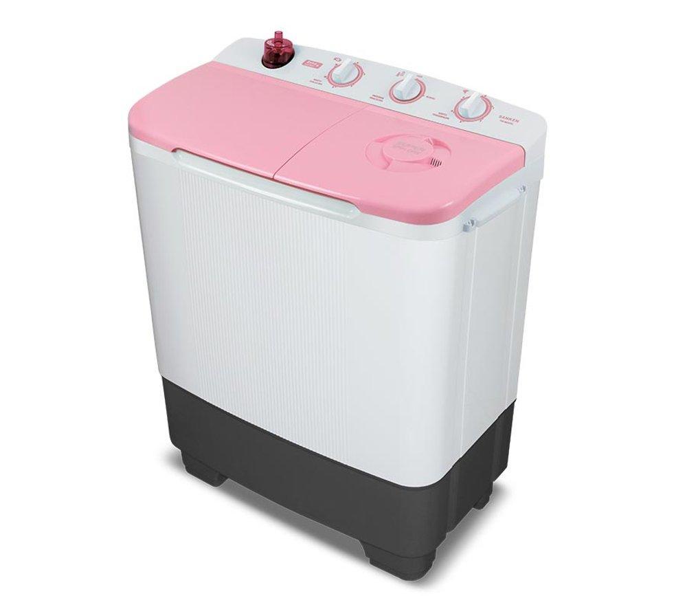 Sanken Mesin Cuci Twin Tub 7Kg TW8630PK.TG Pink.Biru Khusus JABODETABEK