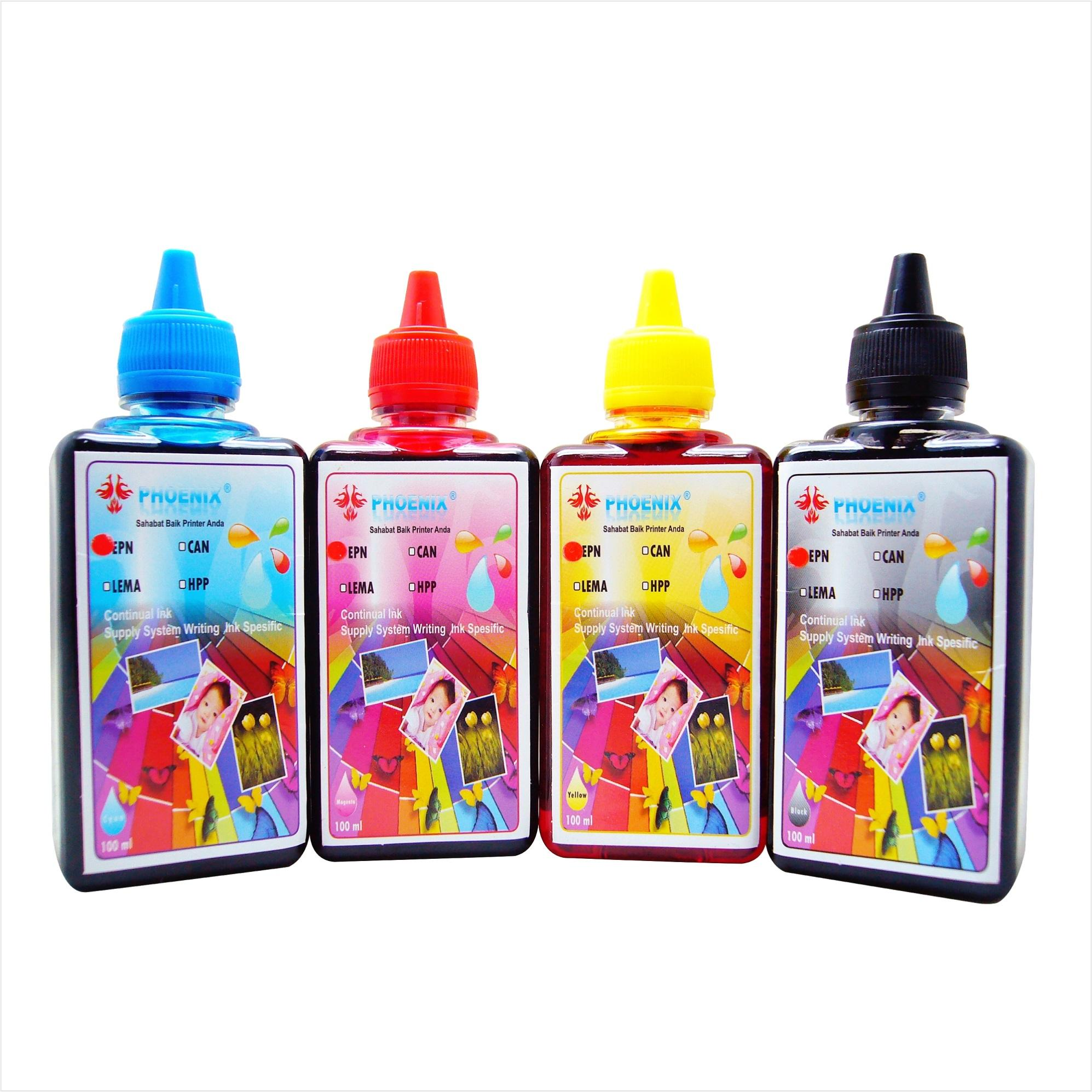 Buy Sell Cheapest Tinta Refill Isi Best Quality Product Deals Suntikan 4pcs Ulang Printer Epson Canon Hp Brother Universal