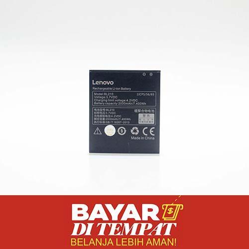 Lenovo BL210 BL 210 Battery Baterai Original 100% for Lenovo S820  S820E  A750E  A770E  A656  A766  A658T  S650
