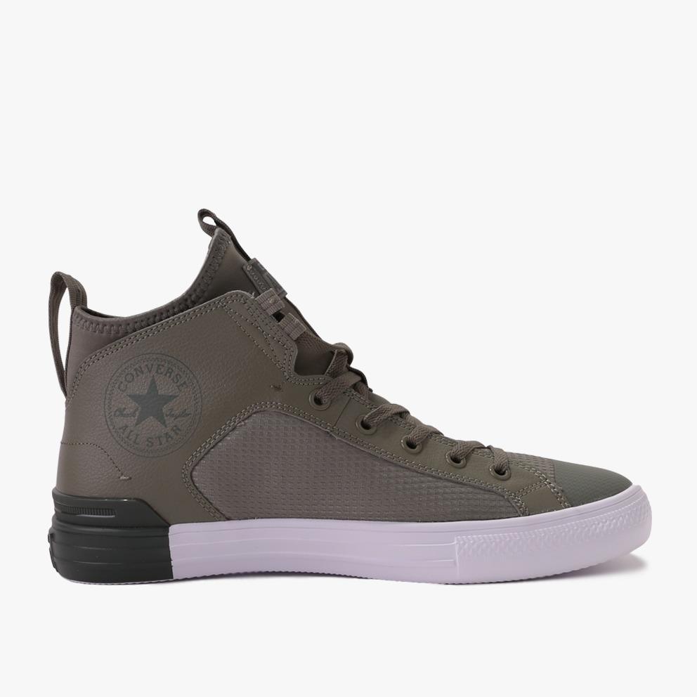 Converse Chuck Taylor All Star Ultra Mid Sepatu Sneakers Pria - Hijau