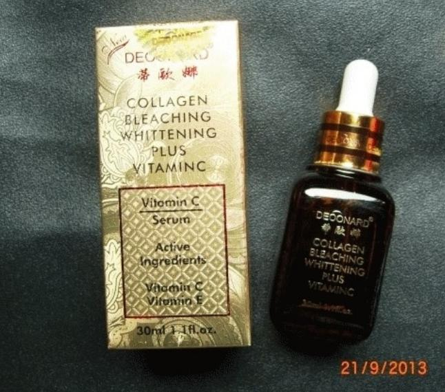 SERUM DEOONARD GOLD COLLAGEN BLEACHING WHITENING / DEONARD SERUM