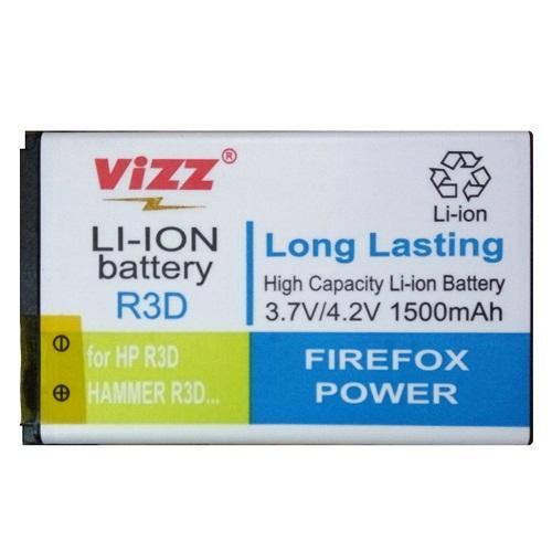 Vizz Battery Batt Batre Baterai Double Power Vizz Advan R3D dan Hammer R3D 1500 Mah