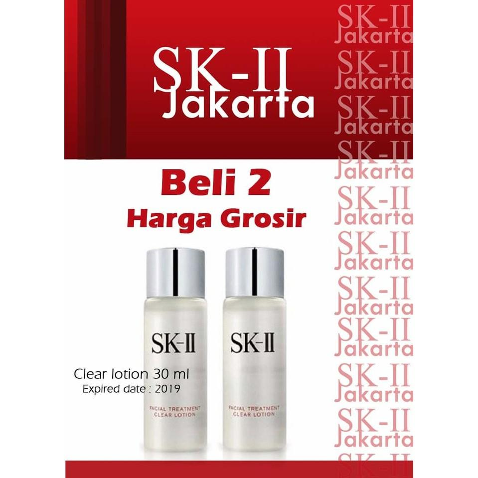 Sk Ii Clear Lotion 10 Ml Produk Terbaik Wiki Harga Facial Treatment Skii Sk2 Promo 2 Pcs 30