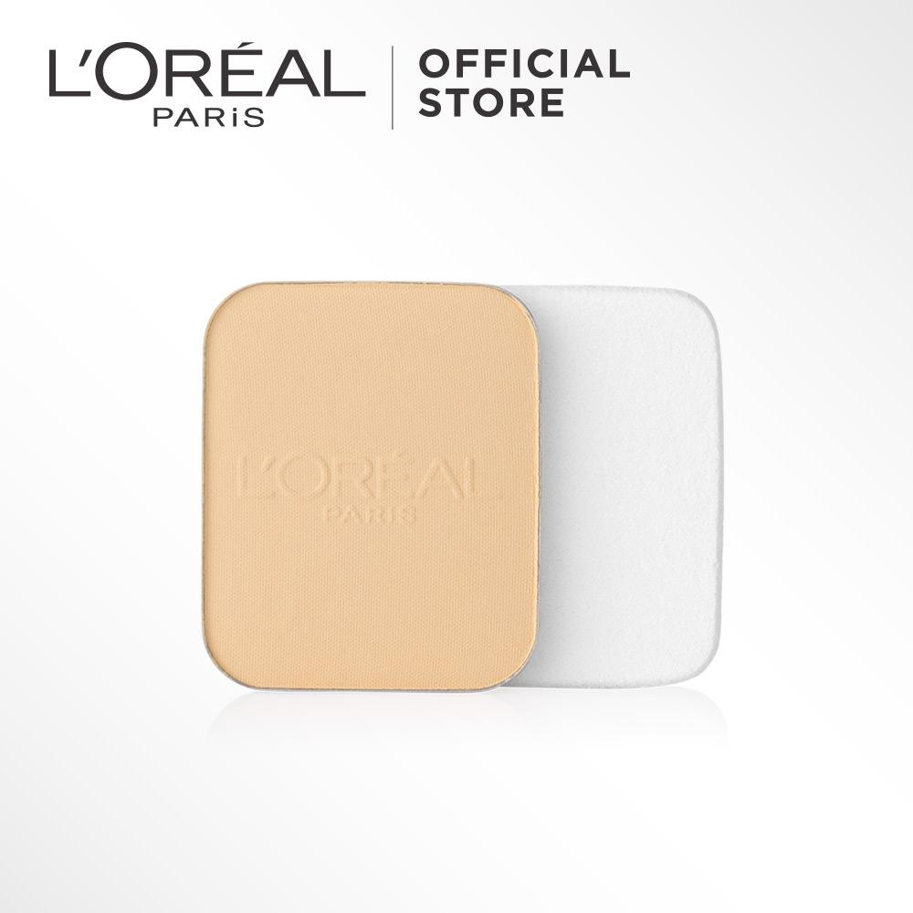 L'Oreal Paris Mat Magique All-In-One Refill Powder - G2 - Golden Ivory by L'Oreal Paris Makeup | Bedak Loreal  Padat / Compact Powder Matte For All Types of Skin / Semua Jenis Kulit Long Lasting Lightweight Tahan Lama Ringan
