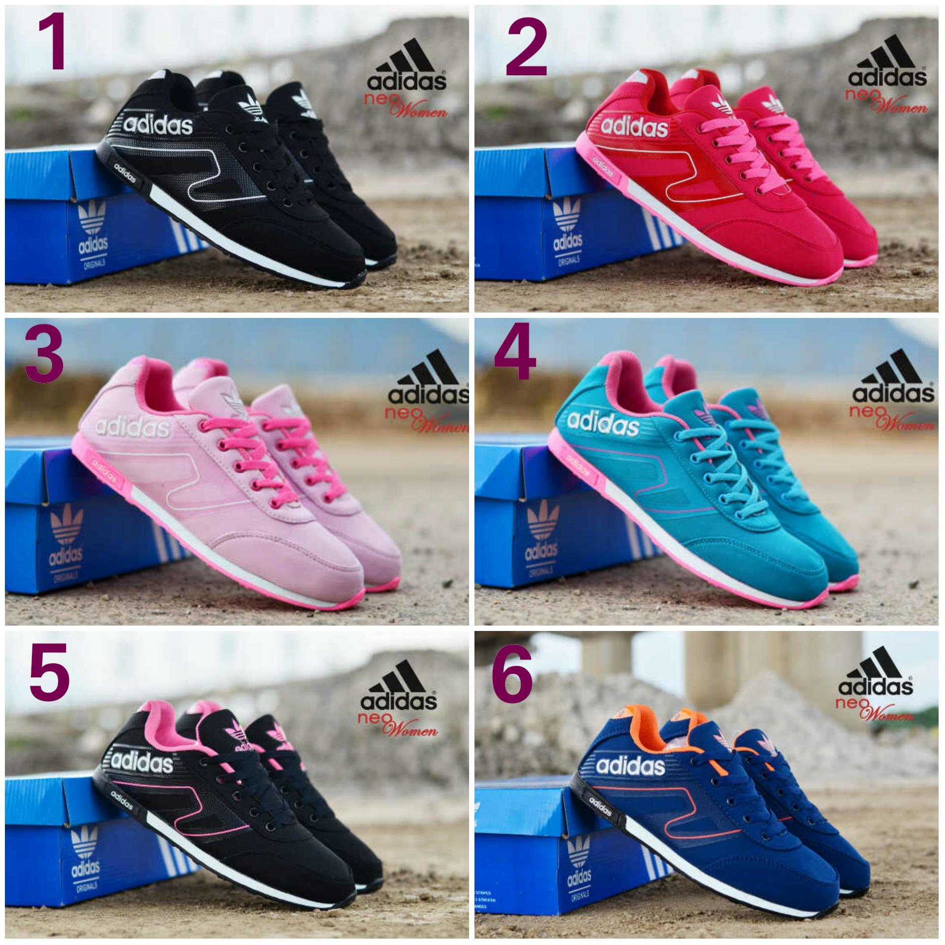 Promo sepatu adidas neo woman import casual sneakers made in vietnam Diskon