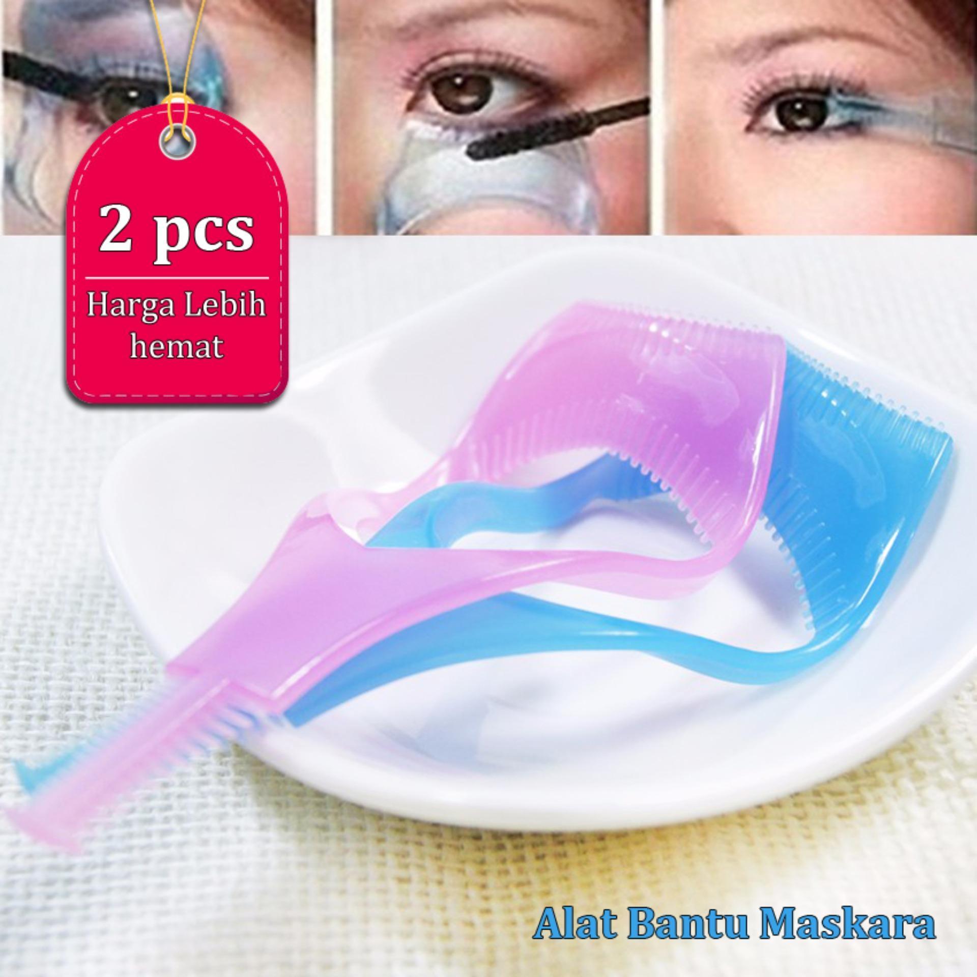 Serba Grosir Murah Alat Bantu Mascara Maskara Make Up For Beauty And Nice Look 1 Set Isi 2