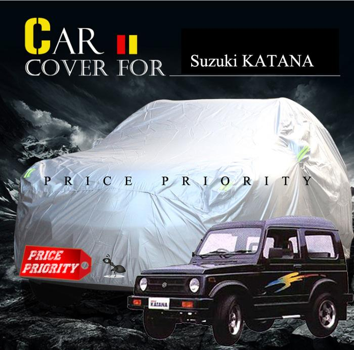 BEST SELLER!!! Body Cover / Sarung Mobil Suzuki Jimmy Katana Waterproof Polyesther - xB5PtJ