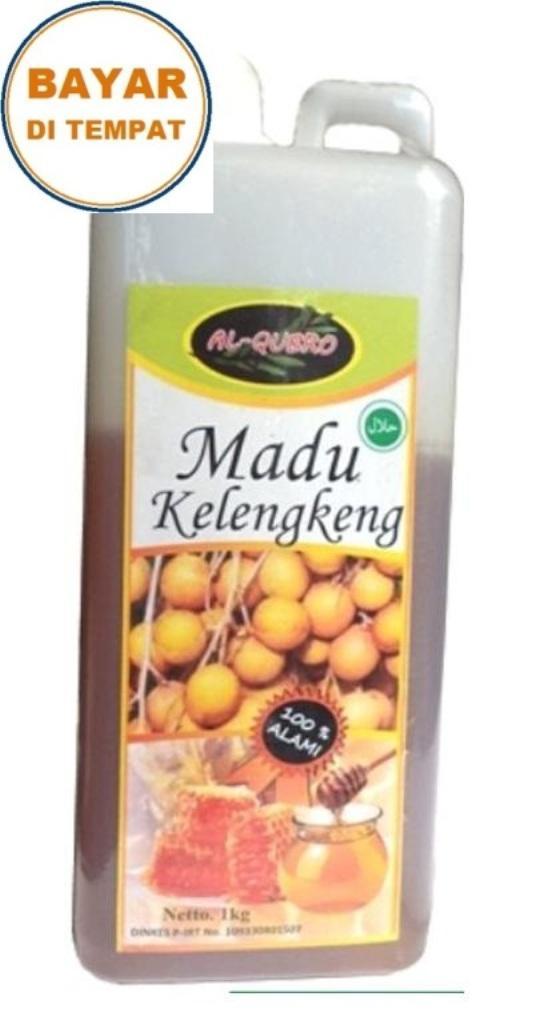 Madu Murni Kelengkeng Al Qubro 1 Kg Surabaya (Dijamin Original)