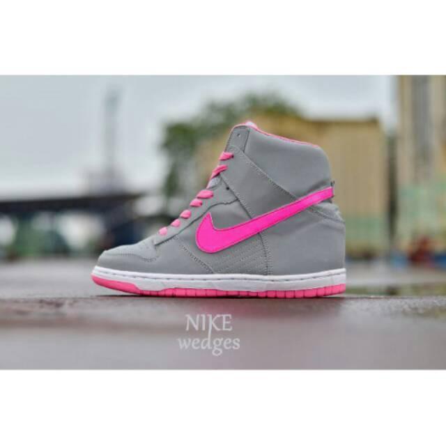 Sepatu Nike Wedges Sport Woman Olahraga Casual Wanita Sneakers