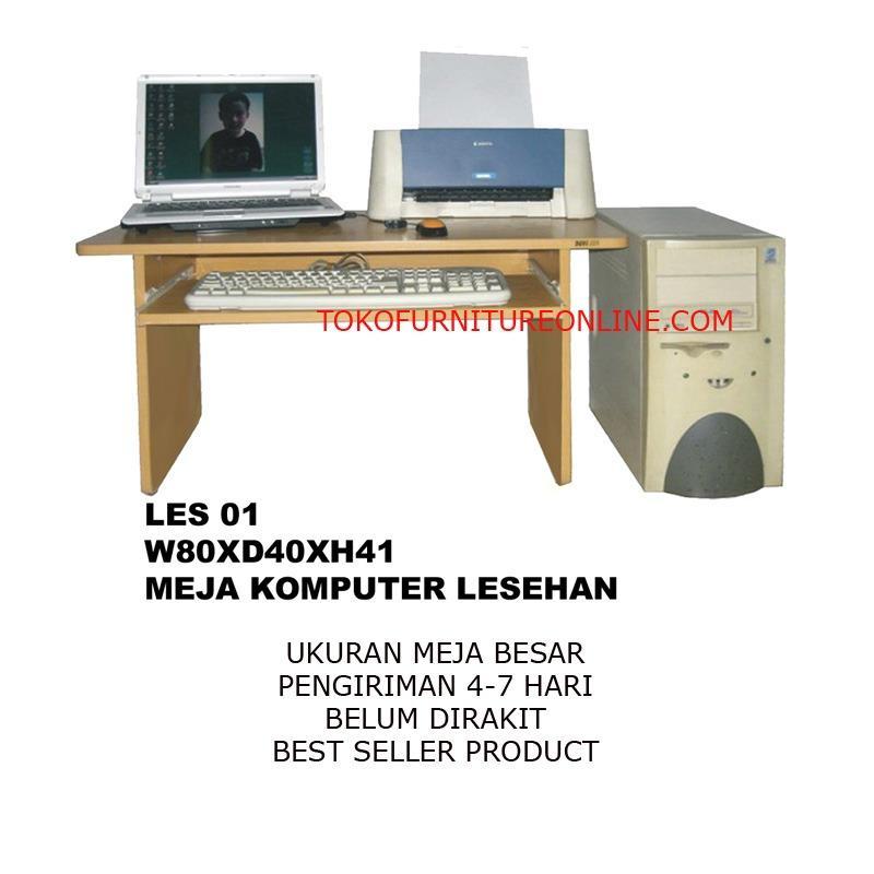 Meja Lesehan Kerja Kantor Komputer Laptop Sekolah Belajar D01