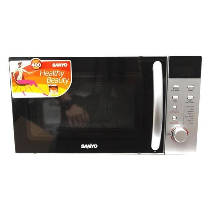 Sale Sanyo Microwave 17 Liter 400 Watt  Ems1812S Unik
