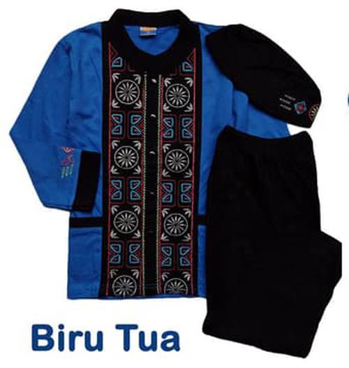 Baju Koko Baju Muslim Atasan Kemeja Muslim Anak K1HB050418