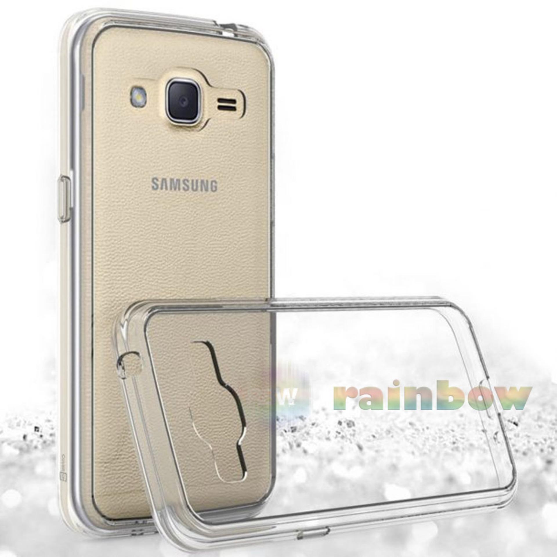 Ultrathin Samsung Galaxy J2 Prime Ultrathin Jelly Air Back Case 0.3mm / Silicone Soft Case