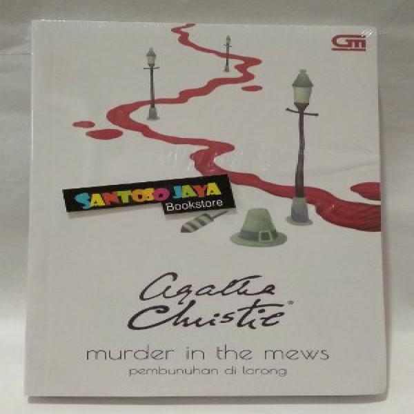 Murder in Mews - Pembunuhan di Lorong - Cover Baru by Agatha Christie