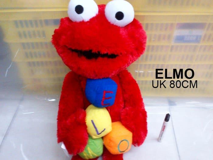 BEST SELLER!!! boneka elmo dadu besar - aDmx29