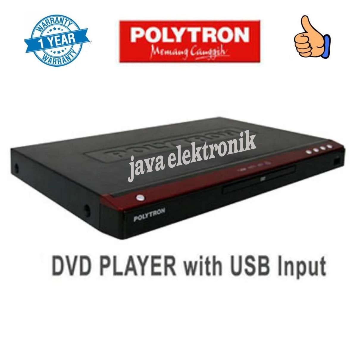 POLYTRON DVD PLAYER 2165G GARANSI RESMI