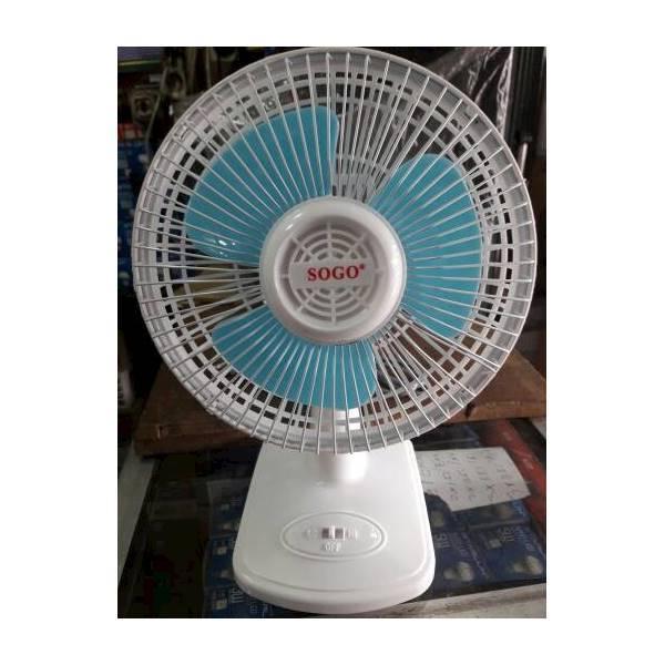 Kipas Angin Meja (Desk Fan) Sogo SG 608 Ukuran 6