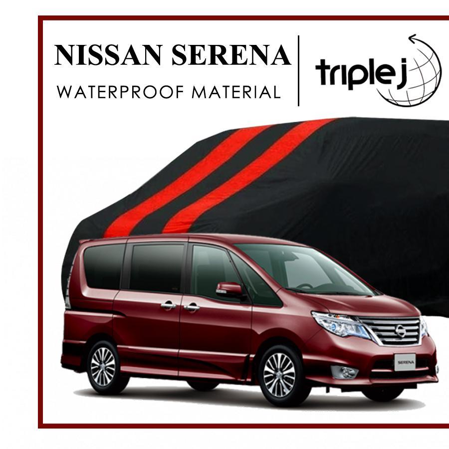 Sarung Mobil Nissan Serena Waterproof - Cover Mobil Serena PREMIUM