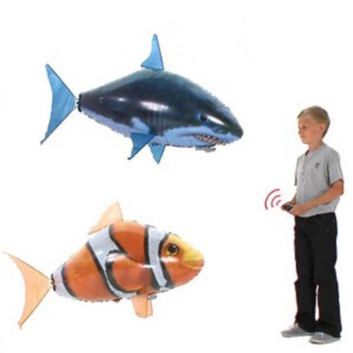 Mainan Ikan Terbang dengan remote control - 6Xblm7