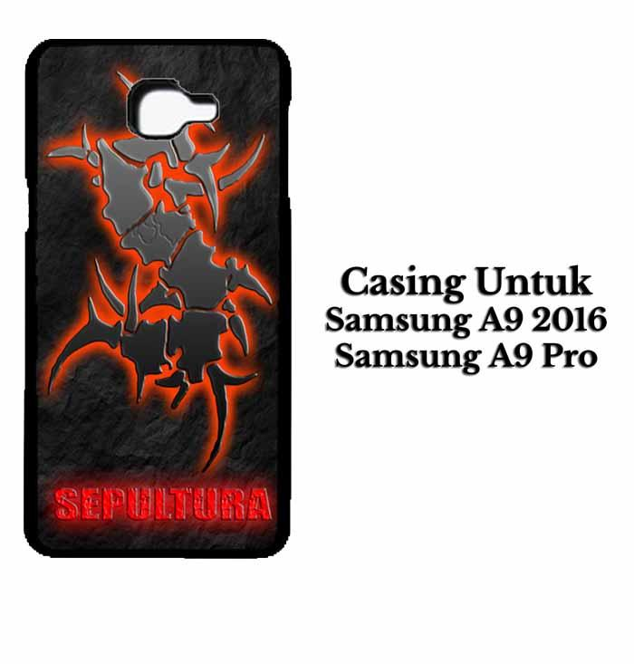 Casing SAMSUNG A9 PRO 2016 sepultura Hardcase Custom Case Se7enstores