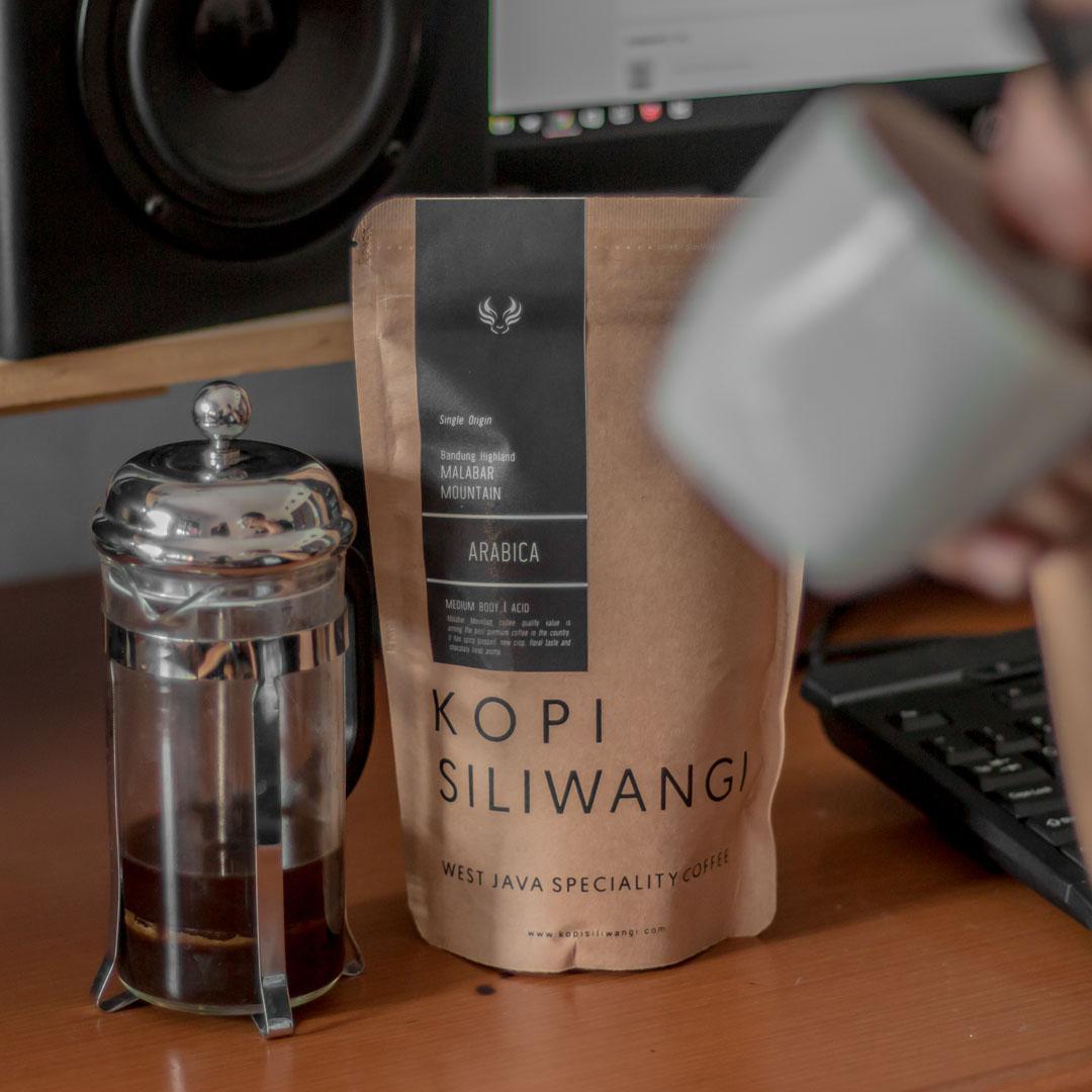 Soenda Mountain Coffee Light Roast Bean Valve Harga Terkini Kopi Single Origin Arabika Malabar