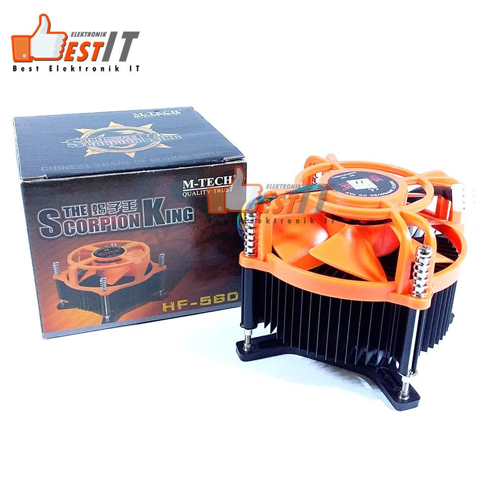 Cek Harga Baru M Tech Fan Prosesor Kipas Processor Lga 775 Scorpion Heatsink Cpu Cooler King For Intel Gambar Produk Rinci Terkini