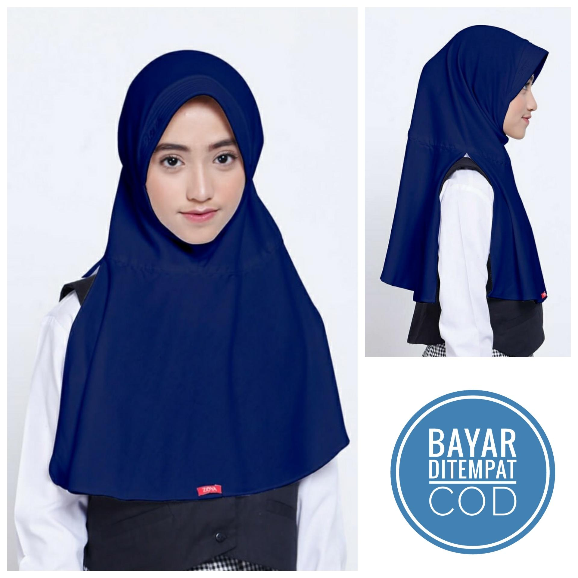 ZOYA Jilbab Hijab Instan Kerudung Bergo Anak Remaja SMP
