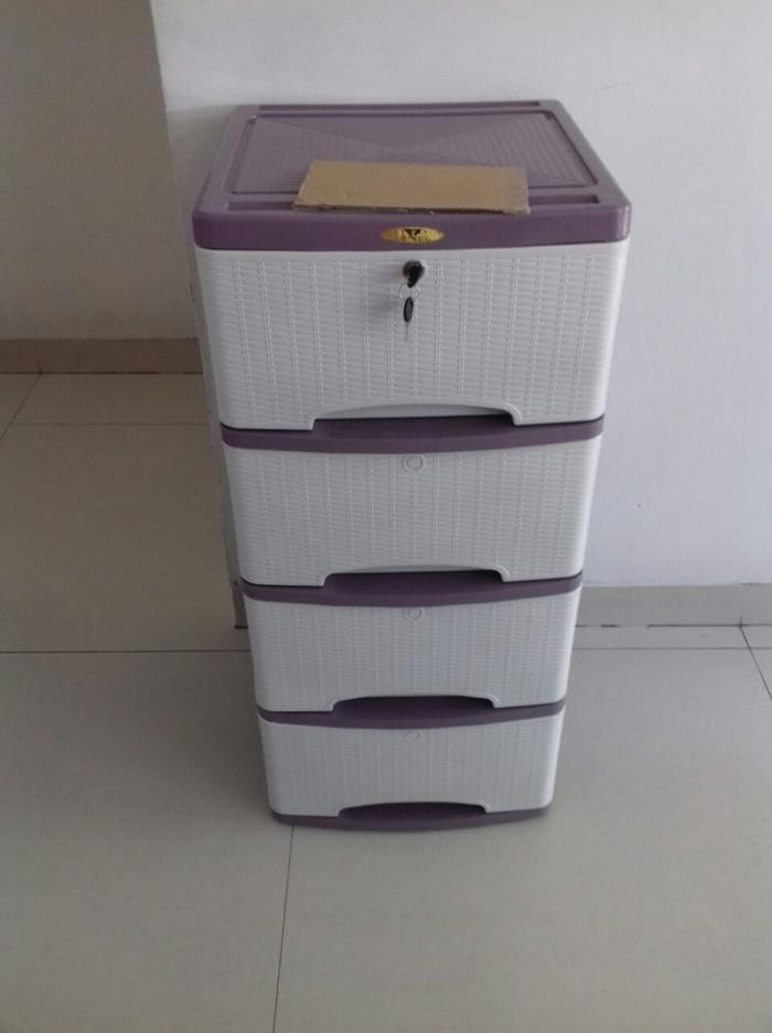 container cabinet rotan s4 / container plastik / lemari plastik
