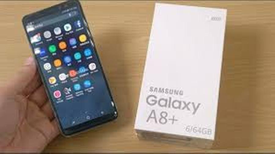 Samsung Galaxy A8 2018 Smartphone