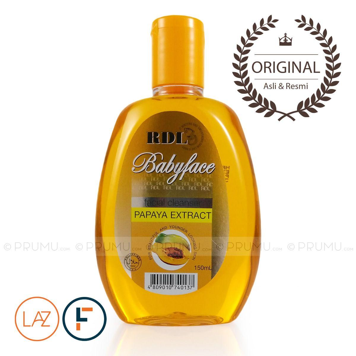 [Original] RDL Babyface Facial Cleanser Papaya Extract 150ml - Pembersih Wajah Ekstrak Pepaya by LAZADA