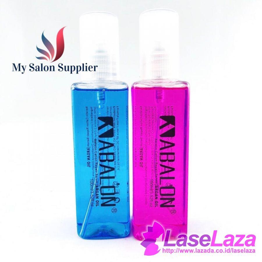 Serum Rambut Argan Oil Abalon 100ml - Keratin Cation Repair Serum Minyak dan Serum Rambut  - PROMO Murah