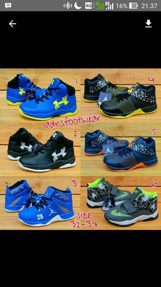 Nike Jordan Kids #sepatu basket anak