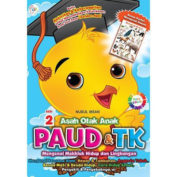 Asah Otak Anak Paud & Tk Seri 2-Nurul Ihsan - Kidsbook