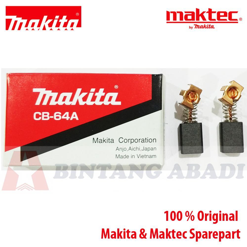 Termurah Makita Carbon Brush CB-64A / Spul for 6802BV, 6805BV Mesin Screwdriver Harga Grosir