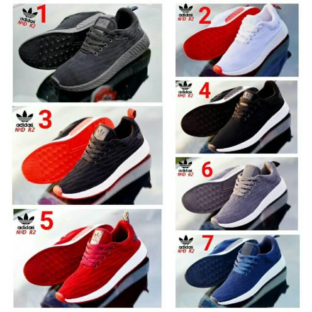 Sepatu olahraga pria adidas NMD R2 import vietnam 39 40 41 42 43 44