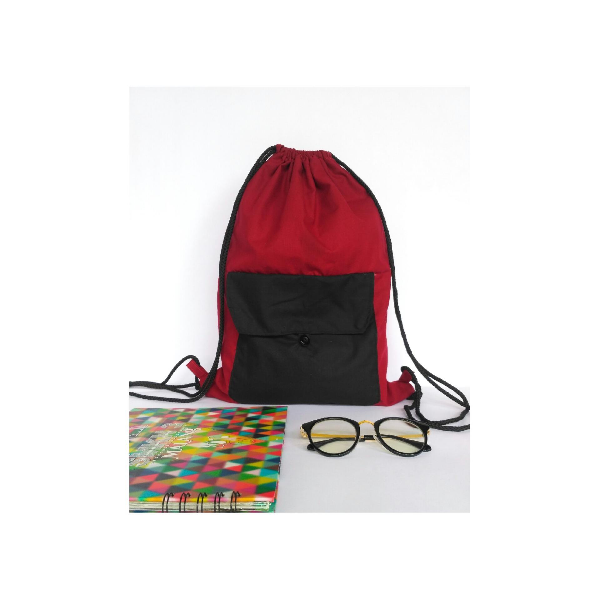 Tas serut / String bag / Backpack / Sling bag / Tas futsal / Tas sekolah / Sport bag / Tas Punggung
