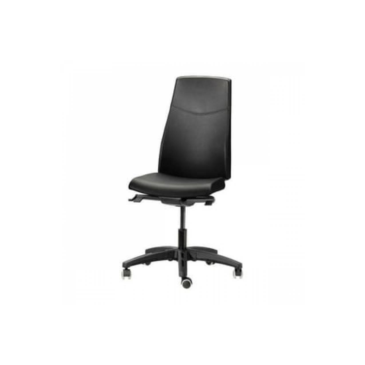 IKEA VOLMAR Kursi Kerja Putar / Direktur - Mjuk hitam