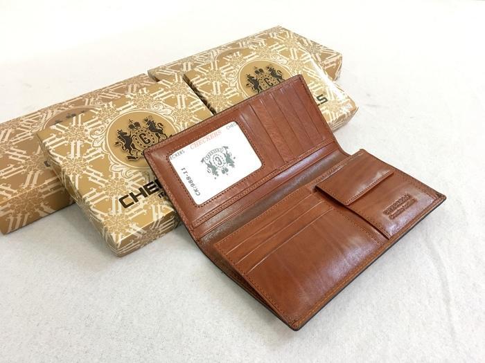 Dompet Kulit Checkers 11N - asli - 4NaveR