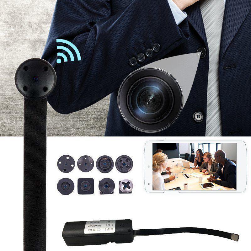 Qimiao Mini WIFI 1080P HD Security IP Camera Wireless DIY Module DV DVR NVR Nanny Cam
