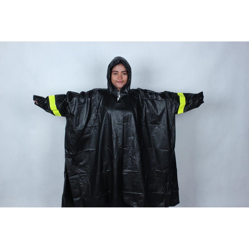 Jas Hujan Mammoth Karet Pvcanti Tembus Hujan Batman Ponco Kyk Asv