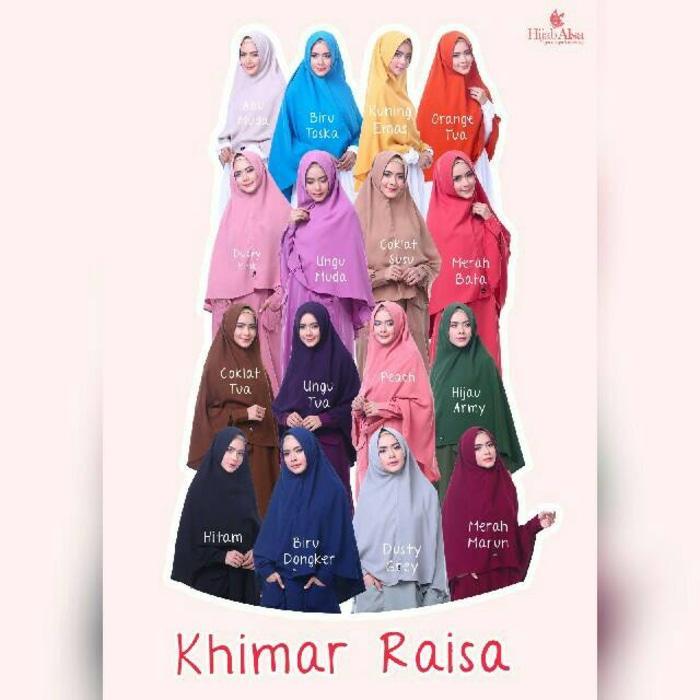 Hijab Alsa - Khimar Raisa Syiria Uk L