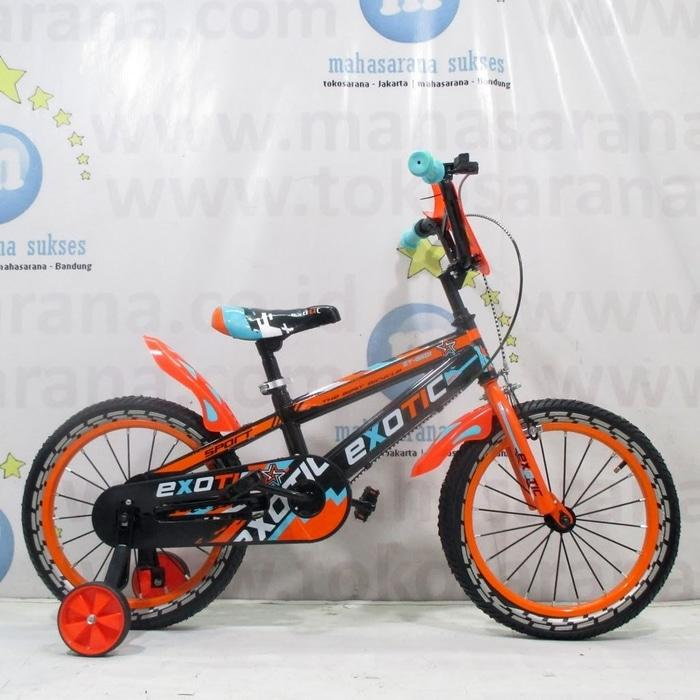 BEST SELLER!!! 16 Exotic ET6601 Sport BMX Sepeda Anak Laki-Laki Usia 4 - 7 Tahun - OPtBBw