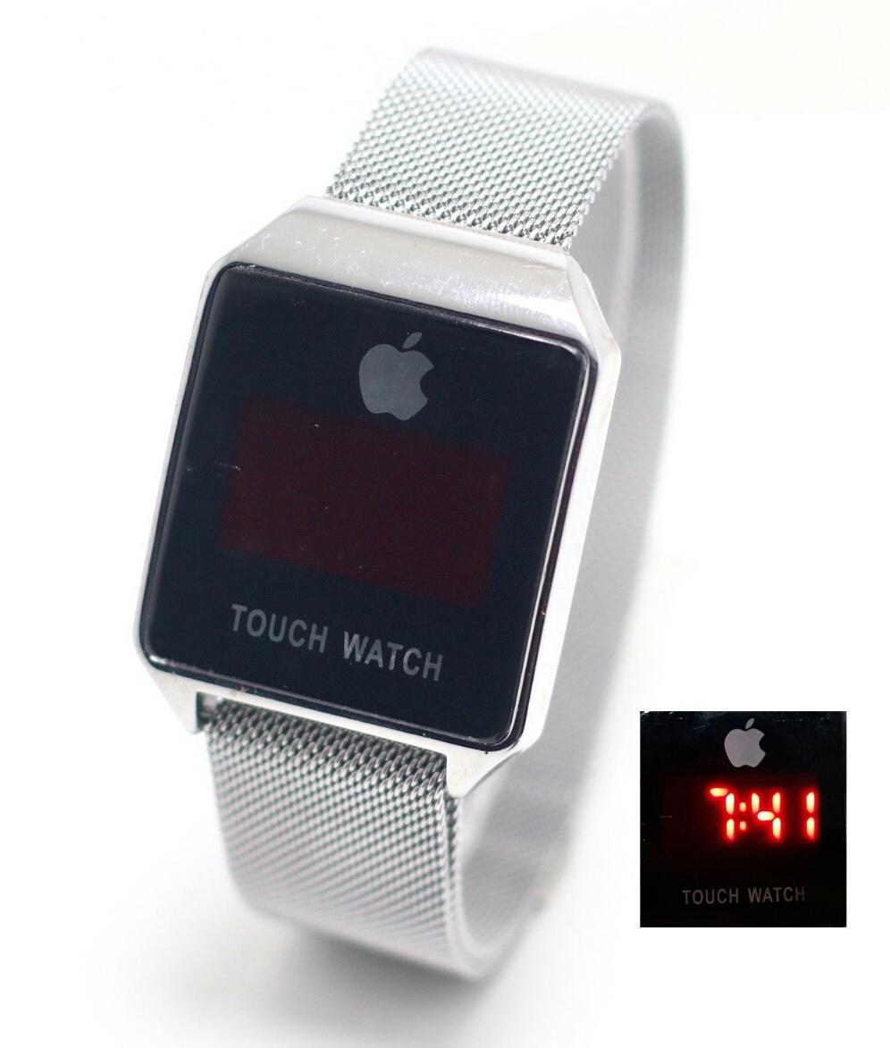 Iphone Apple Touch Watch I Phone Gold Jam Tangan Wanita Pria Fashion